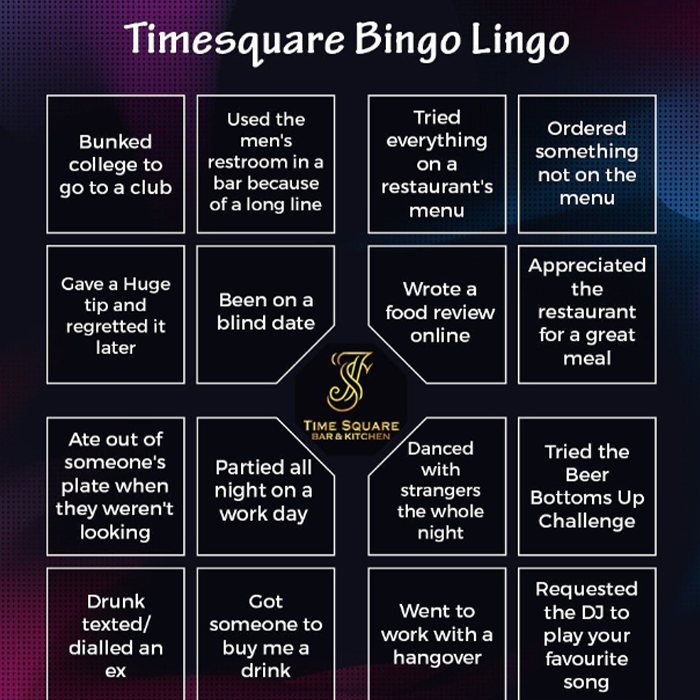Have You Ever Bingo
